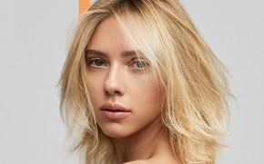 Picture actress, Scarlett Johansson, blonde, Scarlett Johansson, blond