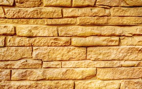Picture yellow, brick, Texture