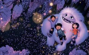Picture children, cartoon, Yeti, Cartoon, Everest, Abominable