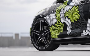 Picture wheel, Volkswagen, Golf, 2018, Golf R, ABBOT, Abstract Concept