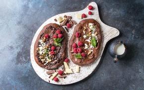 Picture pizza, dessert, chocolate, Natasha Breen