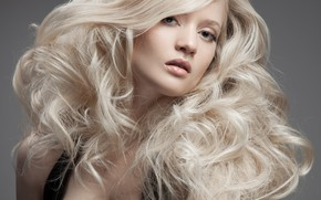 Picture girl, hair, beauty, blonde