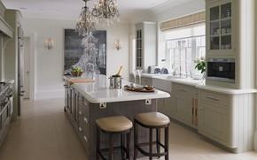 Picture room, interior, kitchen, english classic kitchen