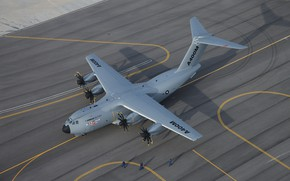 Picture WFP, A400М, Airbus A400M Atlas, Military transport aircraft, Airbus Military