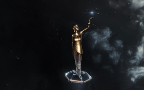 Picture space, eve online, monument