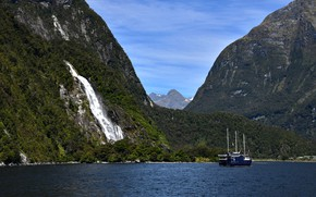 Picture New Zealand, New Zealand, Milford Sound, Milford Sound, Фьорды