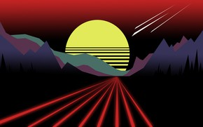 Picture Music, Background, Neon, 80's, Synth, Retrowave, Synthwave, New Retro Wave, Futuresynth, Sintav, Retrouve, Outrun, Spencer …