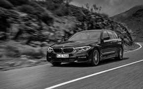 Picture asphalt, BMW, universal, xDrive, Touring, 530d, 5, 2017, 5-series, G31