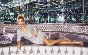Picture girl, pose, style, photo, earrings, figure, dress, legs, beauty, Hailey Baldwin