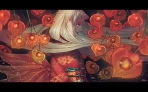 Picture girl, kimono, finalise