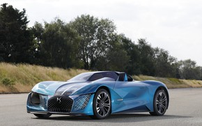 Picture Concept, 2018, electric, And-Tense, DS X, DS Motor
