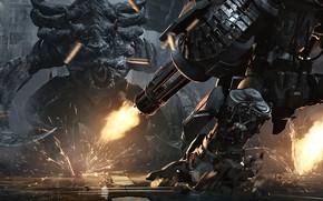 Picture fighter, starcraft, StarCraft, Zerg, machine gun, Viking, strategy, ultralisk, Terran, zergs, terrans