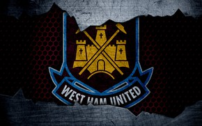 Picture wallpaper, sport, logo, football, West Ham United