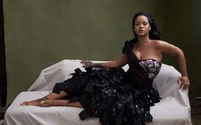 Picture dress, tattoo, tattoo, Singer, Rihanna, Riana, Rihanna, singer