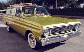 Picture Ford, Car, Falcon, Station Wagon