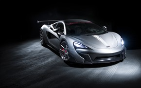 Picture McLaren, Light, Gray, Sight, LED, 570S