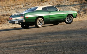 Picture Muscle, Mopar, Vehicle, Plymouth Duster