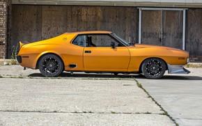 Picture Orange, Car, Coupe, AMX, AMC Javelin