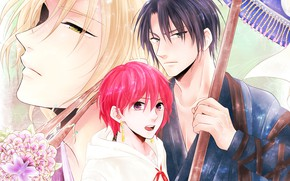 Picture anime, art, characters, Dawn Yona, Akatsuki no Yona, Hack, Jon, Su-won