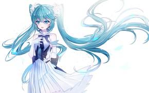 Picture flowers, Vocaloid, Vocaloid, Hatsune Miku