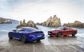 Picture coupe, BMW, convertible, 2019, BMW M8, M8, M8 Competition Coupe, F91, M8 Coupe, M8 Competition …