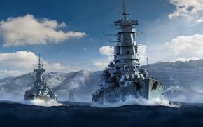 Picture USSR, Heavy cruiser, Крейсер пр. 82 Рига и крейсер пр. 83 Таллин
