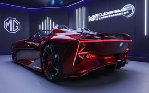 Picture Concept, roadster, Sports car, MG Cyberstar, SAIC, Magic Eye