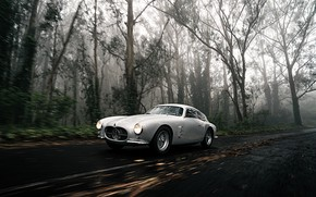 Picture Forest, Classic, Car, 1956, Maserati A6G 2000 Berlinetta