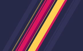 Picture line, strip, diagonal, fon, slant