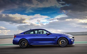 Picture machine, coupe, sports, drives, wheel, BMW M4 CS