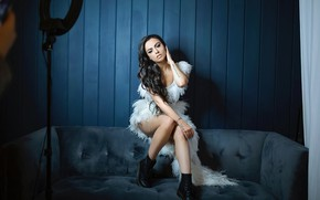 Picture look, girl, pose, makeup, brunette, legs, beauty, Cher Lloyd