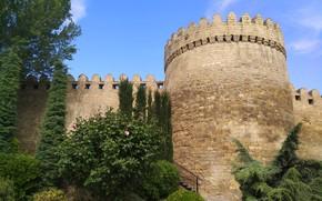 Picture Tower, Fortress, Azerbaijan, Azerbaijan, Baku, Baku