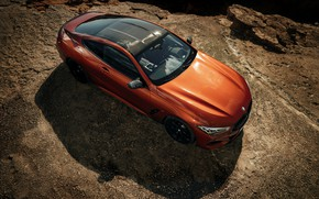 Picture roof, coupe, BMW, top, Coupe, 2018, 8-Series, dark orange, M850i xDrive, Eight, G15