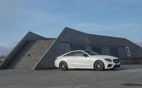 Picture transport, Mercedes-Benz, construction, stage, car