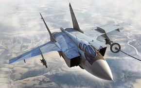 Picture Foxhound, long-range, OKB MiG, MiG-31BM, Videoconferencing Russia, a modern version of the MiG-31 Russian air …