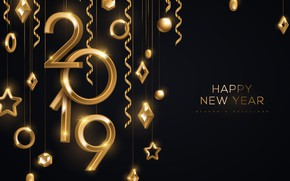 Picture holiday, New year, decor, 2019