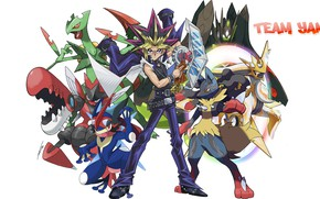 Picture Pokemon, Pokemon, crossover, Pokemon, Yu Gi Oh!