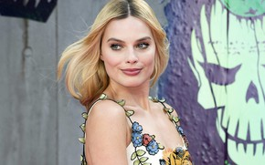 Picture look, actress, blonde, photoshoot, hair, look, blonde, actress, Margot Robbie, Margot Robbie