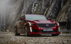 Picture cadillac, american, cts-v, ingushetia