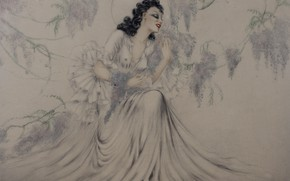 Picture 1940, Wisteria, Louis Icart