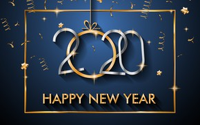 Picture background, new year, 2020