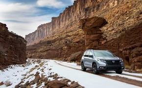 Picture snow, gorge, Honda, primer, 2019, Passport