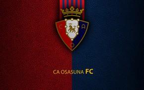 Picture wallpaper, sport, logo, football, La Liga, CA Osasuna