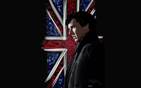 Picture flag, Sherlock Holmes, Benedict Cumberbatch, Sherlock, Sherlock BBC, Sherlock Holmes, Sherlock (TV series), by mygeekymuse