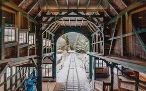 Picture station, Germany, Thuringia, The Lichtenhain-Bergbahn