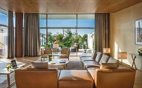 Picture Villa, interior, Dubai, living room, Bvlgari Resort