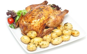 Picture chicken, potatoes, grill