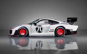 Picture Porsche, supercar, side view, 2018, 935