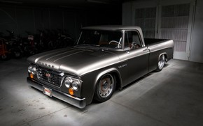 Picture Dodge, Low, Vehicle, D100