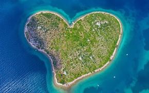 Picture Croatia, Adriatica, island of Love